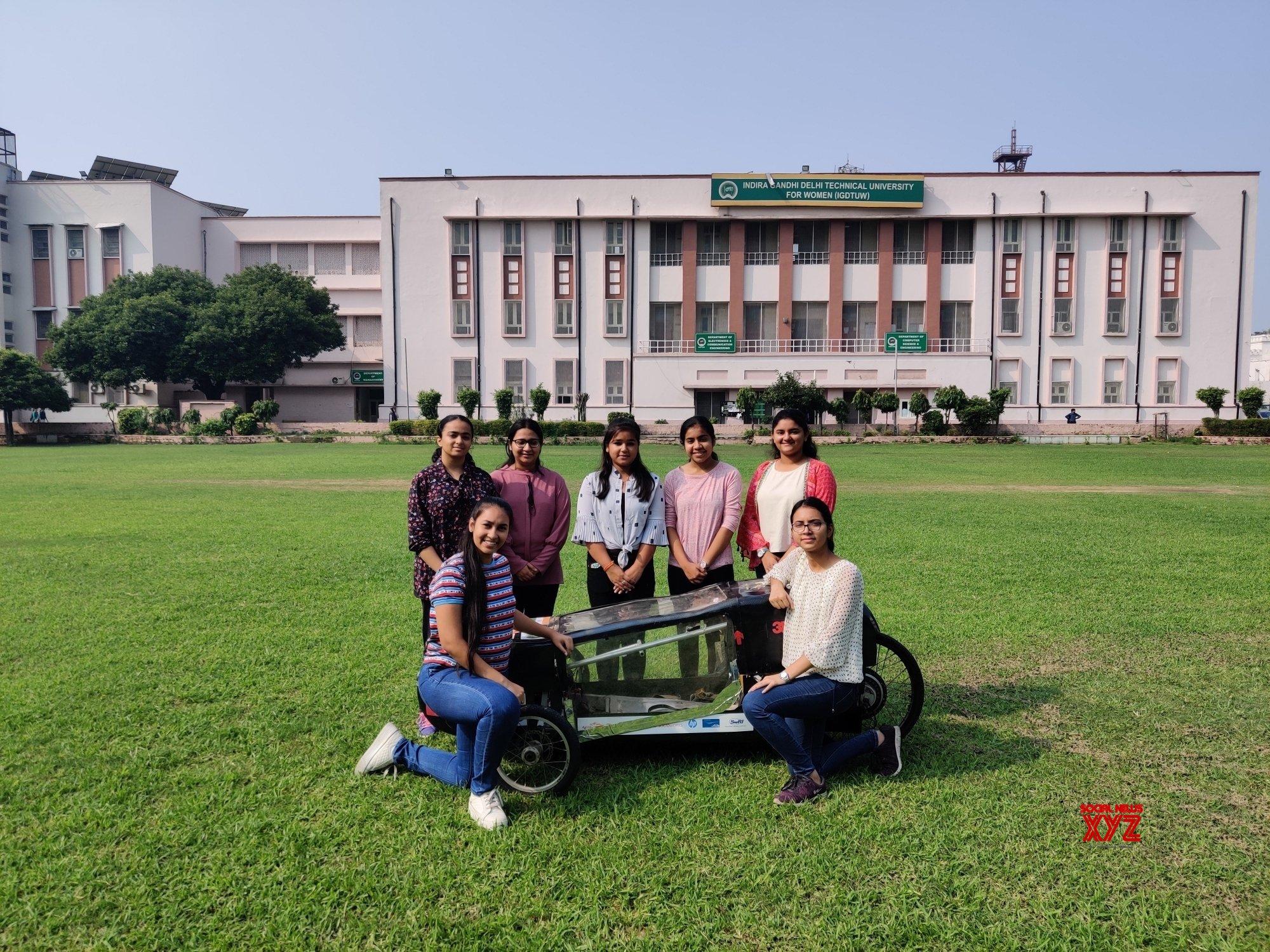 New Delhi: Two Delhi colleges design energy efficient vehicles #Gallery