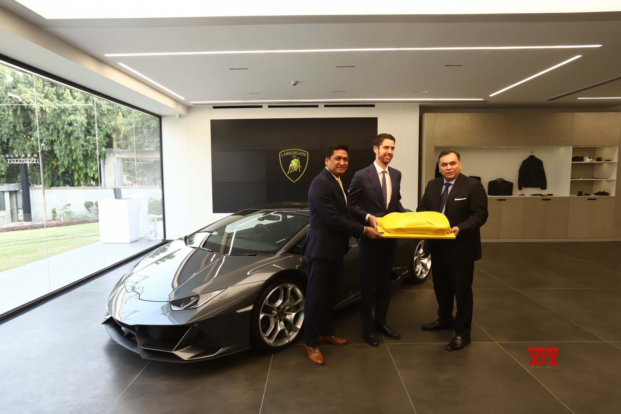 New Delhi: Opening of Lamborghini Indias new showroom #Gallery