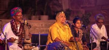 Jodhpur: A glimpse of the Womanly Voices music session in the Jodhpur RIFF 2019. (Photo Source: Jodhpur RIFF/OIJO)