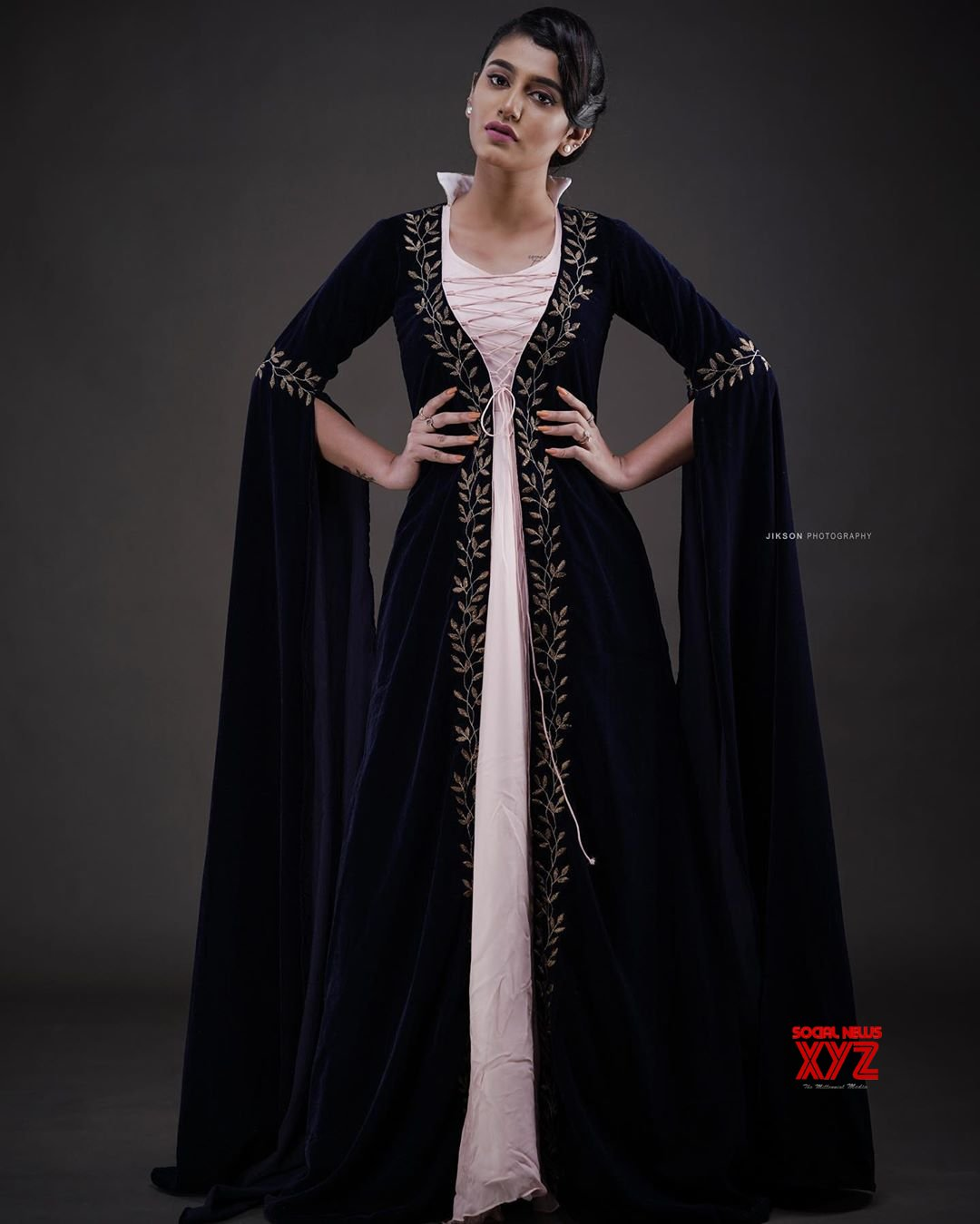 Actress Priya Prakash Varrier Looks Like A Princess In Latest Stills