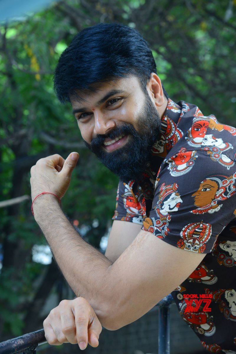 Photos: Hero Ashwin Babu Interview About Raju Gari Gadhi 3 Movie