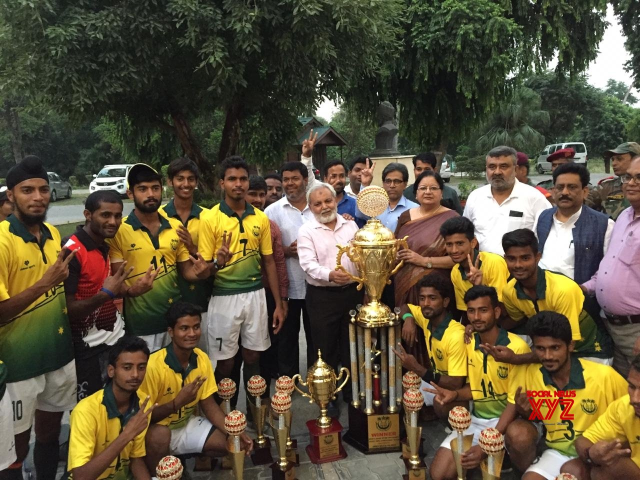 New Delhi: JMI wins North - Zone Inter University Hockey Championship 2019 #Gallery