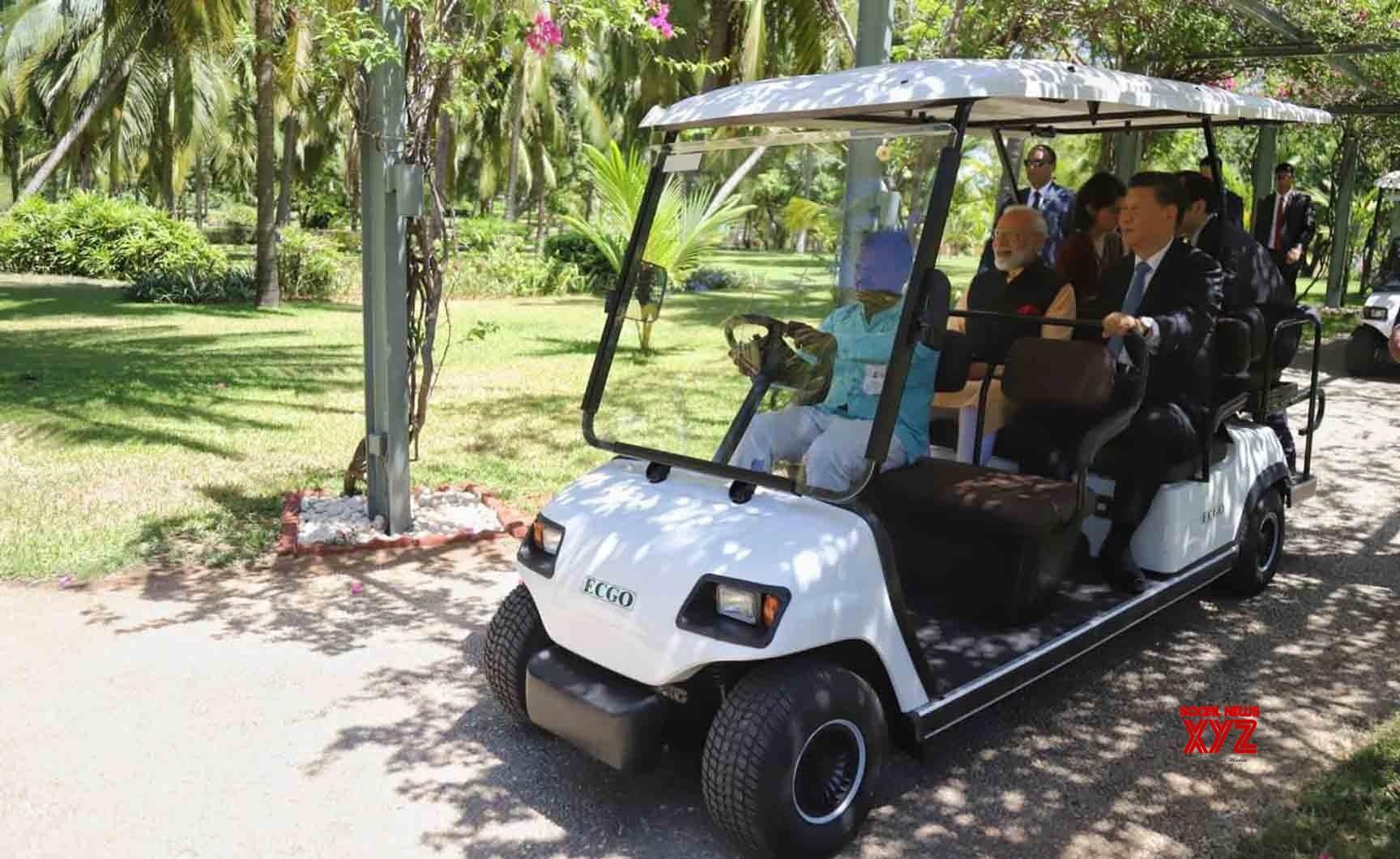 Mahabalipuram: PM Modi, Chinese President take eco - friendly ride to 'Machan' at Taj Fisherman's Cove (Batch - 2) #Gallery
