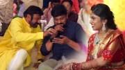 Chiranjeevi and Balakrishna Funny Moments @Kodi Ramakrishna Daughter Pravalika Engagement [HD] (Video)