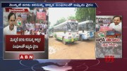 TSRTC Employees Stage Protest Reaches 8th Day  [HD] (Video)