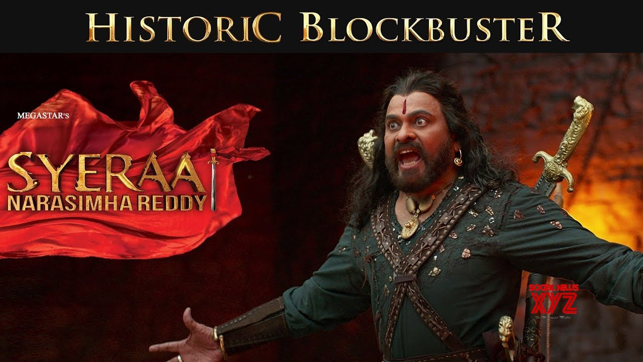 Sye Raa Narasimha Reddy movie becomes 3rd film to earn over 100 crores share in AP/TS