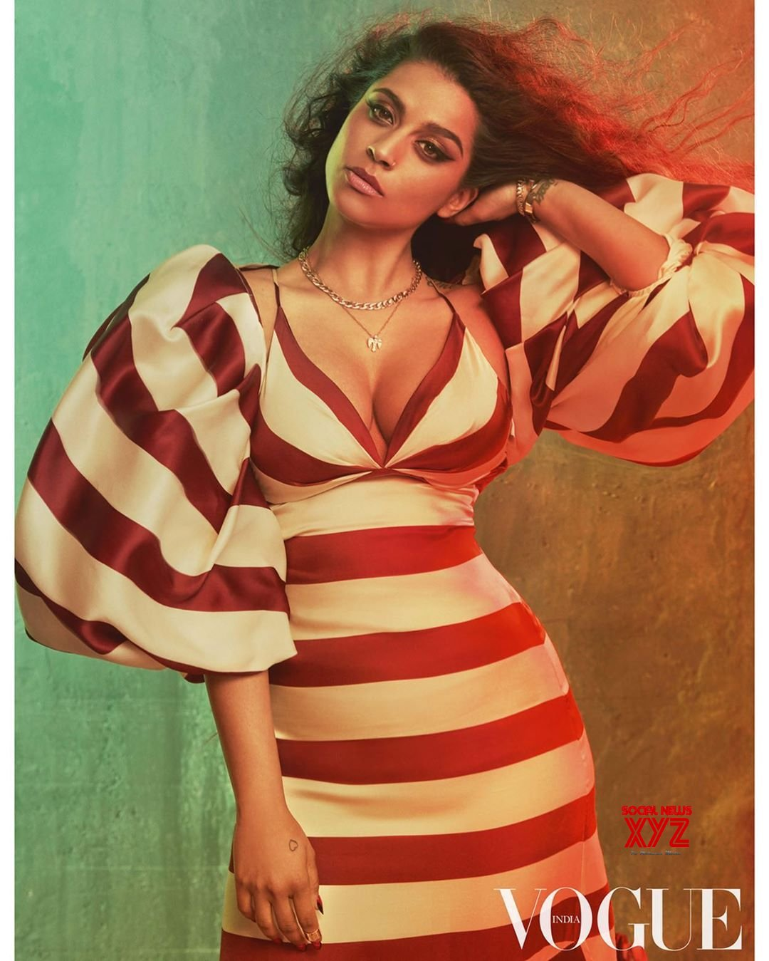 Actress Lilly Singh Hot Stills From Vogue India November Cover Shoot