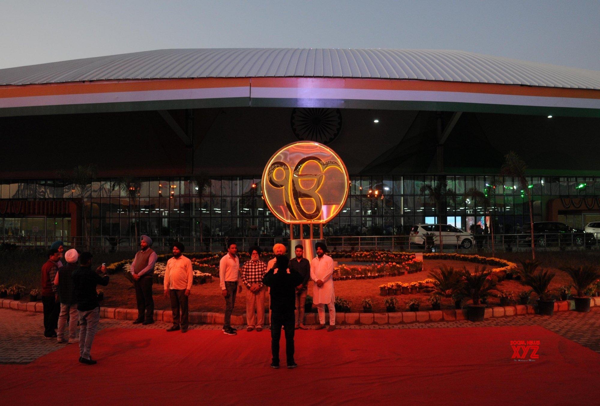 Gurdaspur: Indian pilgrims at newly inaugurated Integrated Check Post of Kartarpur Corridor in Punjab #Gallery