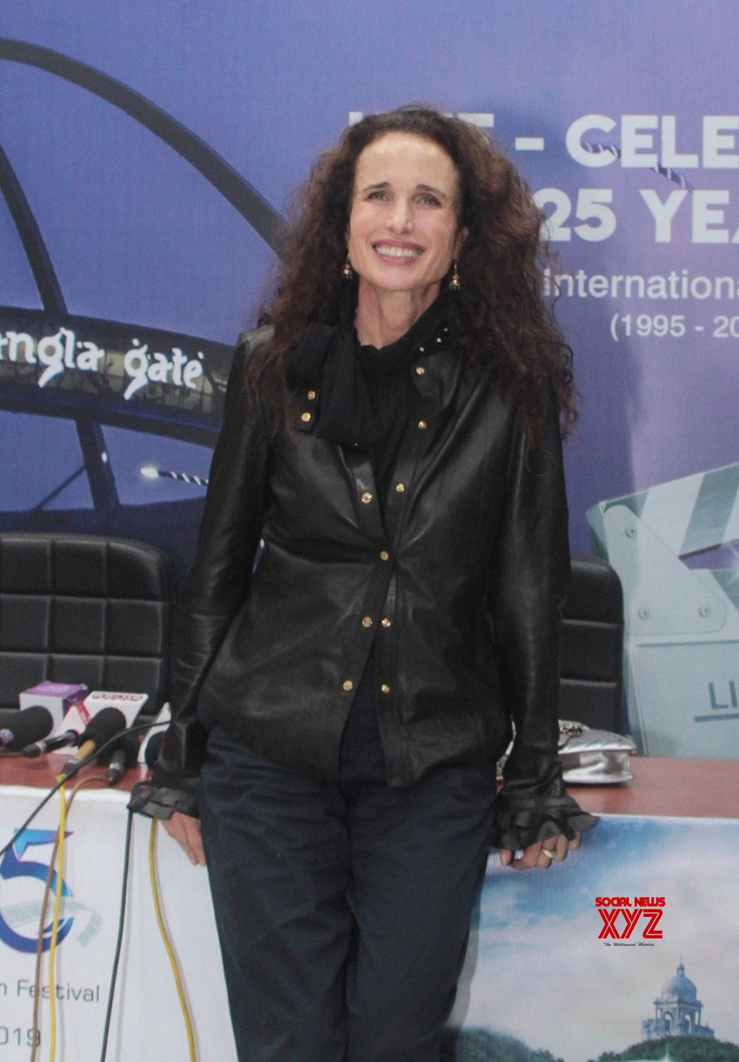 Kolkata: Andie MacDowell's press conference at 25th KIFF #Gallery