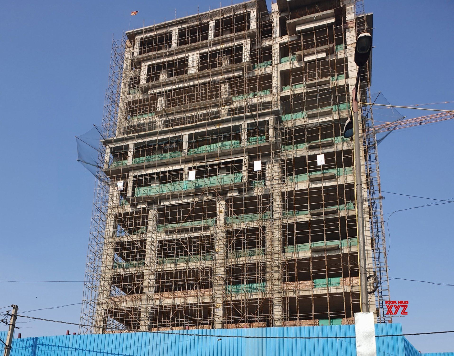 New Delhi: Under - construction RSS headquarters #Gallery