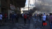 Protesters clash with Iraqi security forces (Video)