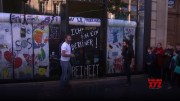 Chocolate Berlin Wall broken on 30th anniversary (Video)