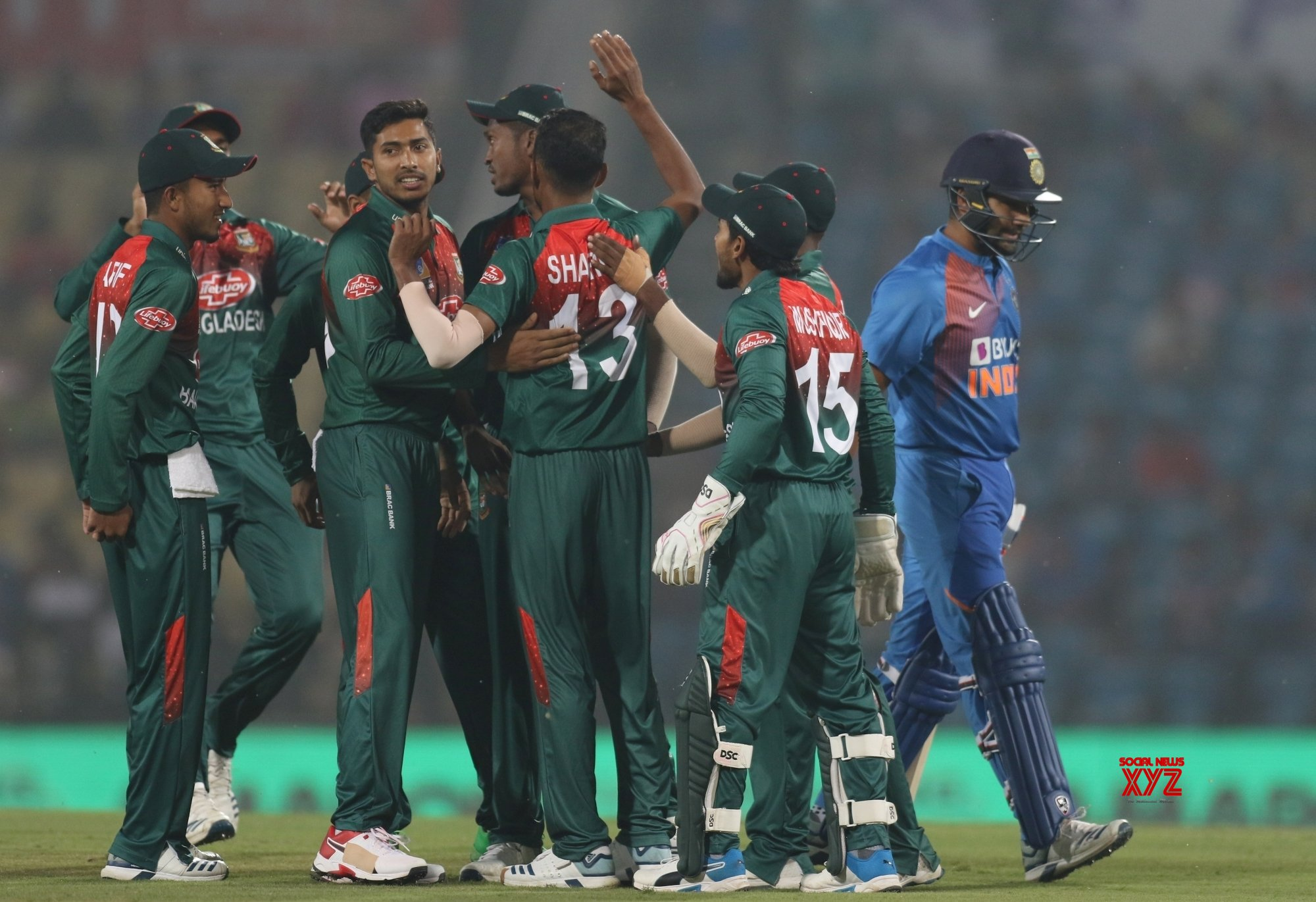 Nagpur: 3rd T20I - India Vs Bangladesh (Batch - 1) #Gallery