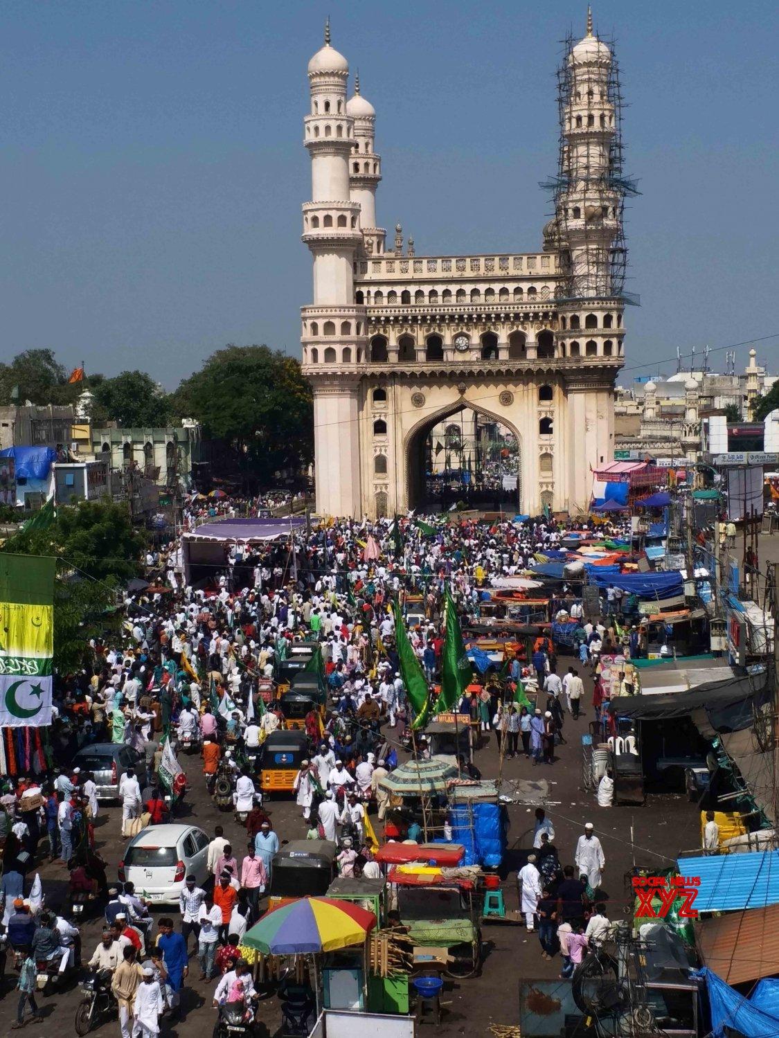 Hyderabad: Eid Milad - un - Nabi #Gallery