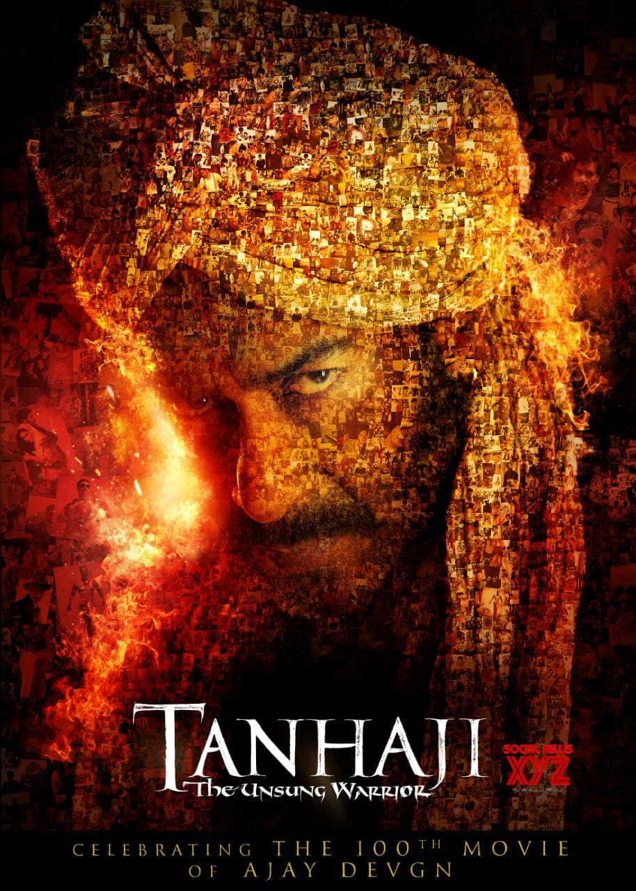 Ajay Devgn's Tanhaji: The Unsung Warrior Movie Latest Poster