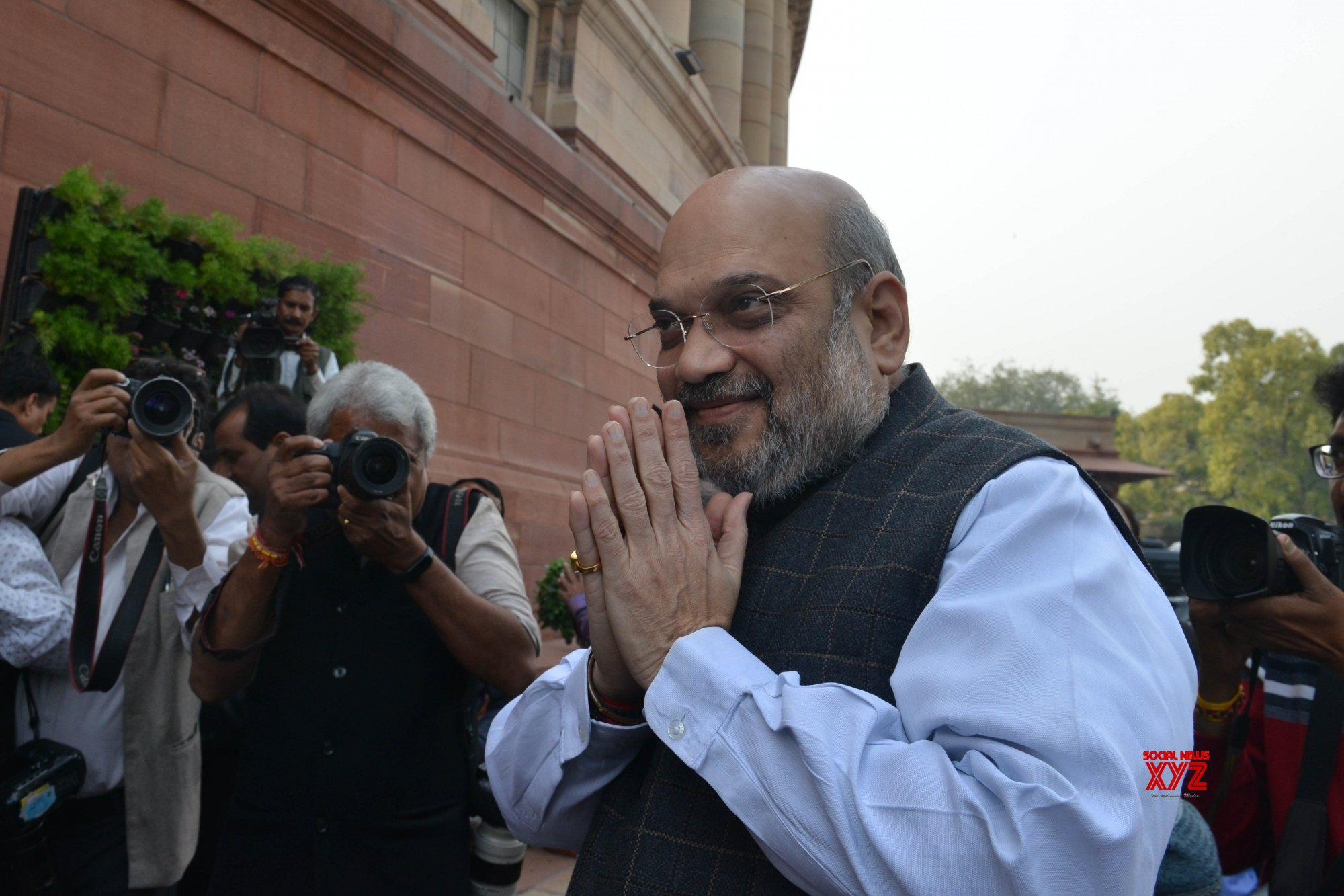 Shah met N-E reps 12 hours before CAB was passed