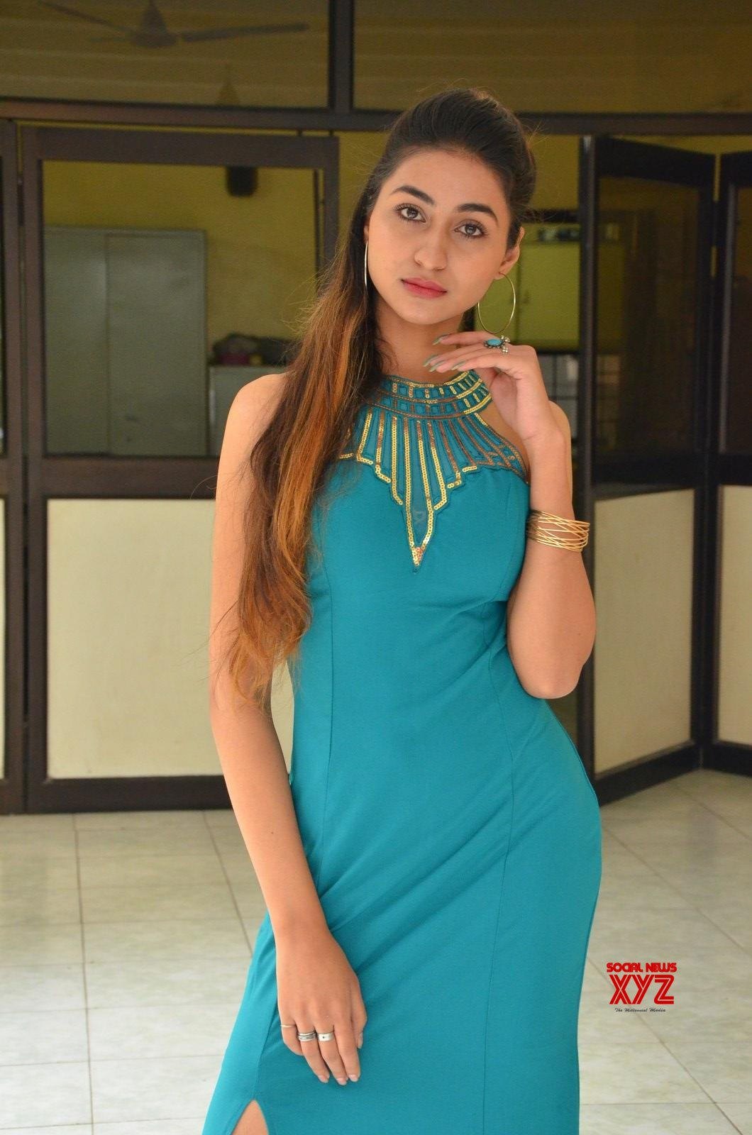 Actress Myra Amiti Hot Stills From Only Nenu Movie Trailer Launch