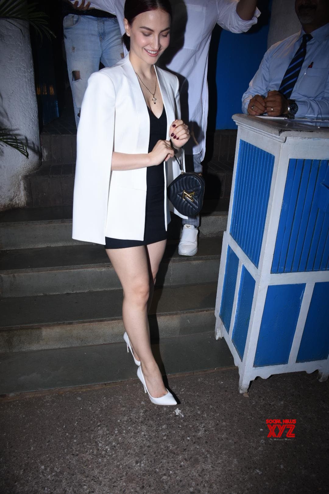 Elli Avram And Other Celebs At Raza Beig's Birthday Party At Olive In Bandra - Gallery