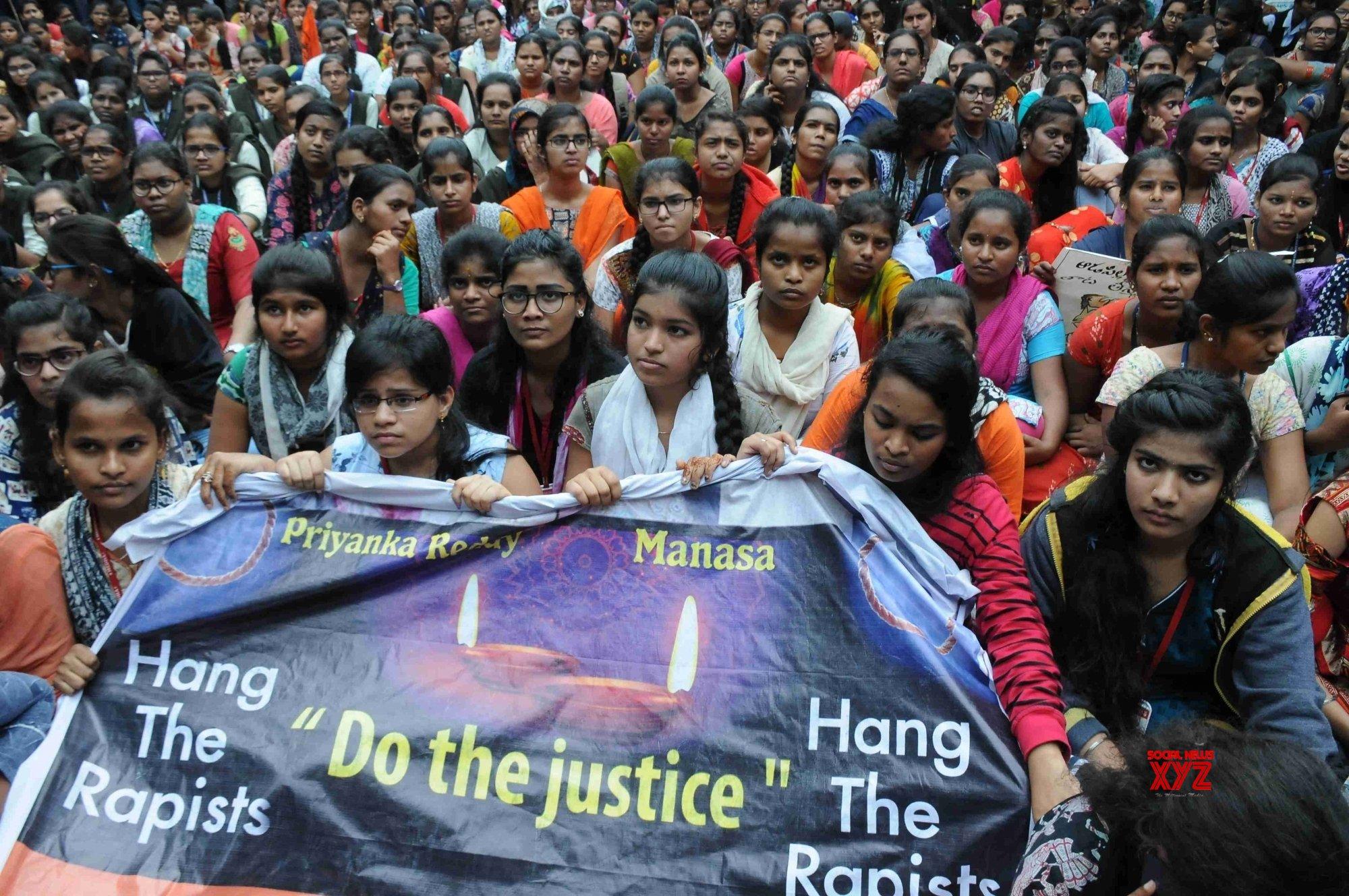 No let up in protests over Hyderabad gang-rape & murder