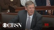 Senator Isakson calls for bipartisanship in farewell speech (Video)