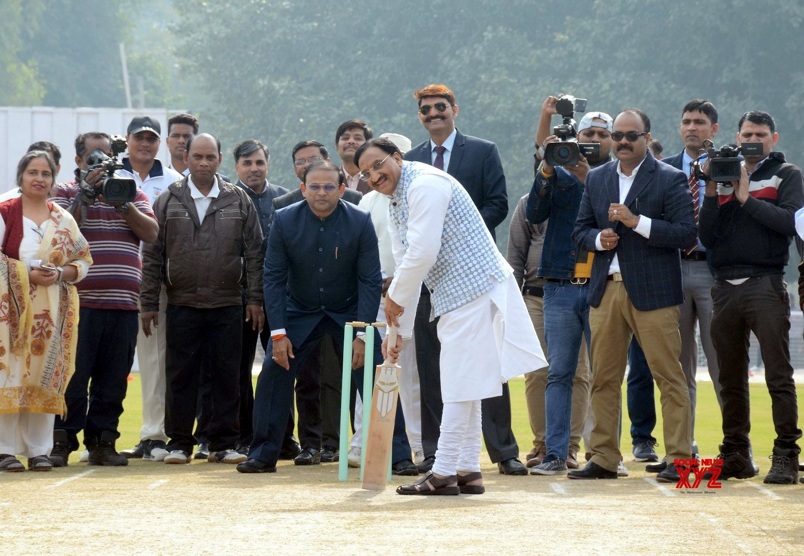 New Delhi: Cricket Stadium - inauguration #Gallery