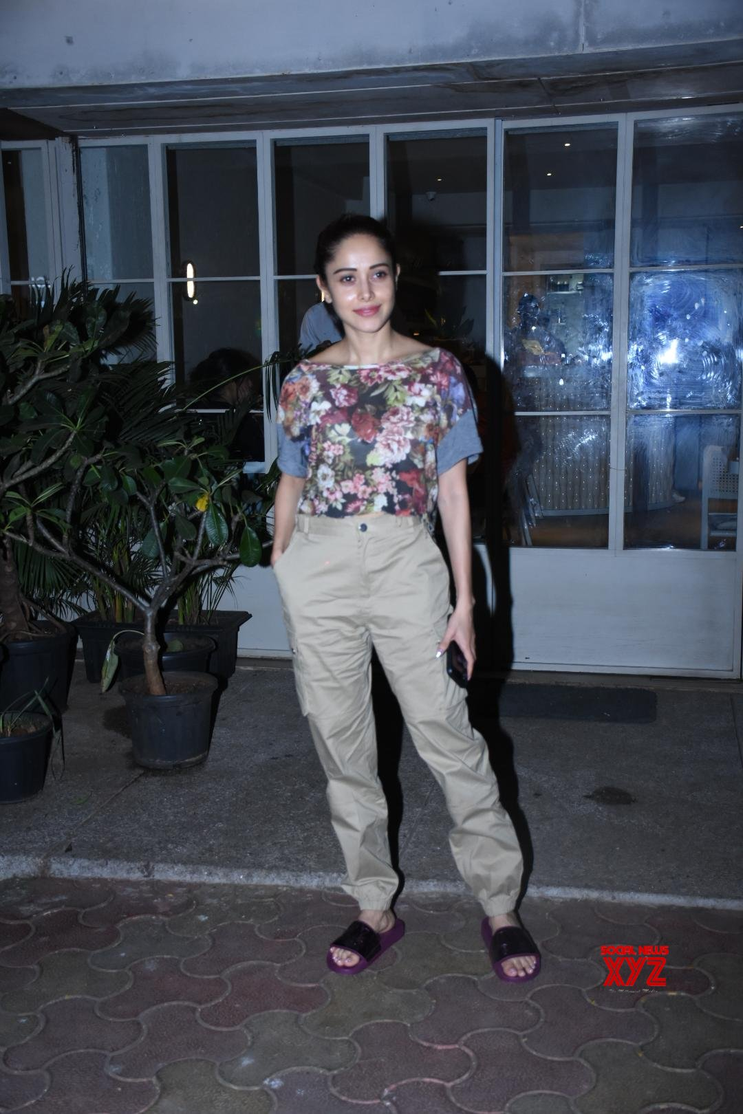 Actress Nushrat Bharucha Spotted At Sequel In Bandra - Gallery