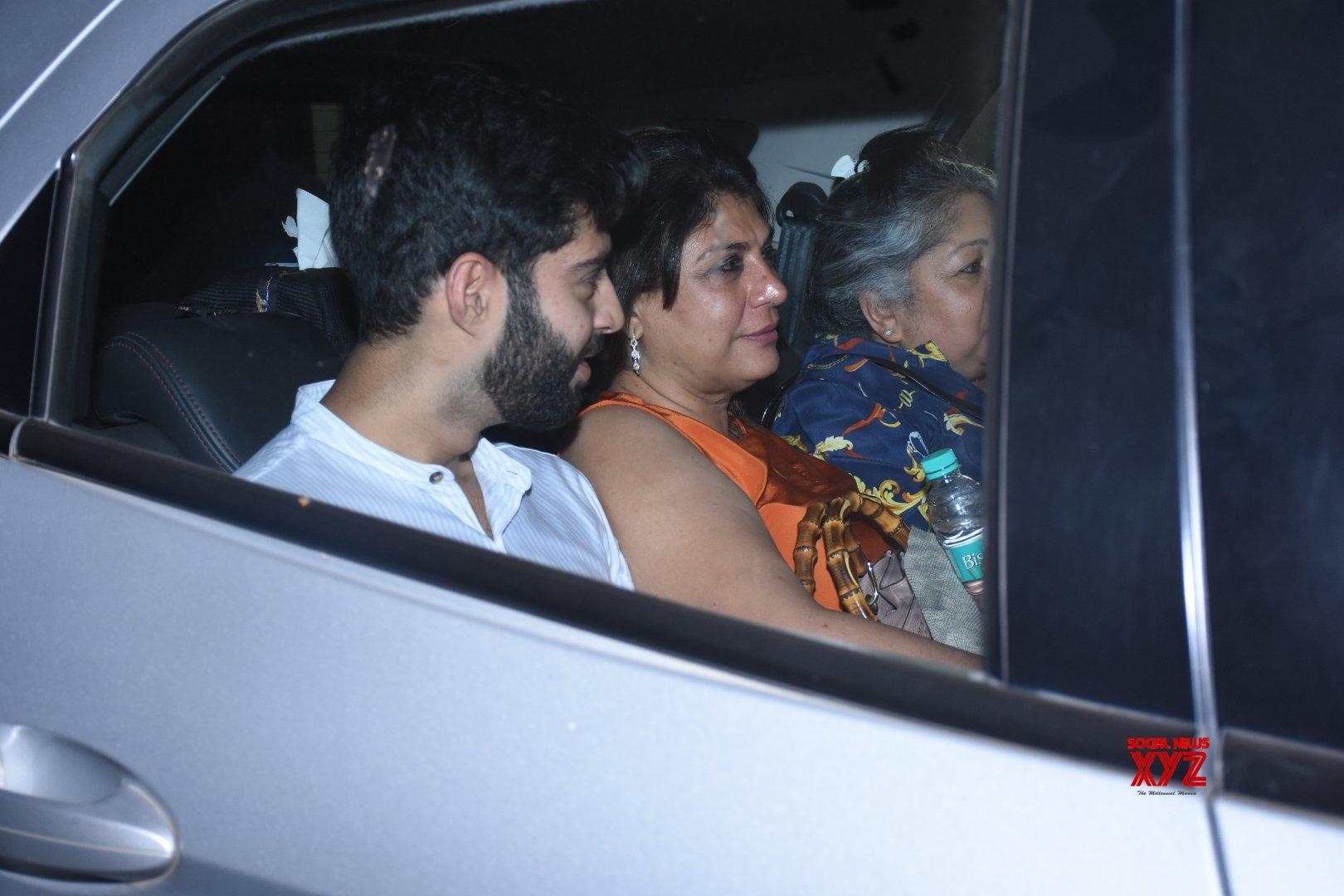 Panipat Movie Screening At Yashraj Studios In Andheri - Gallery