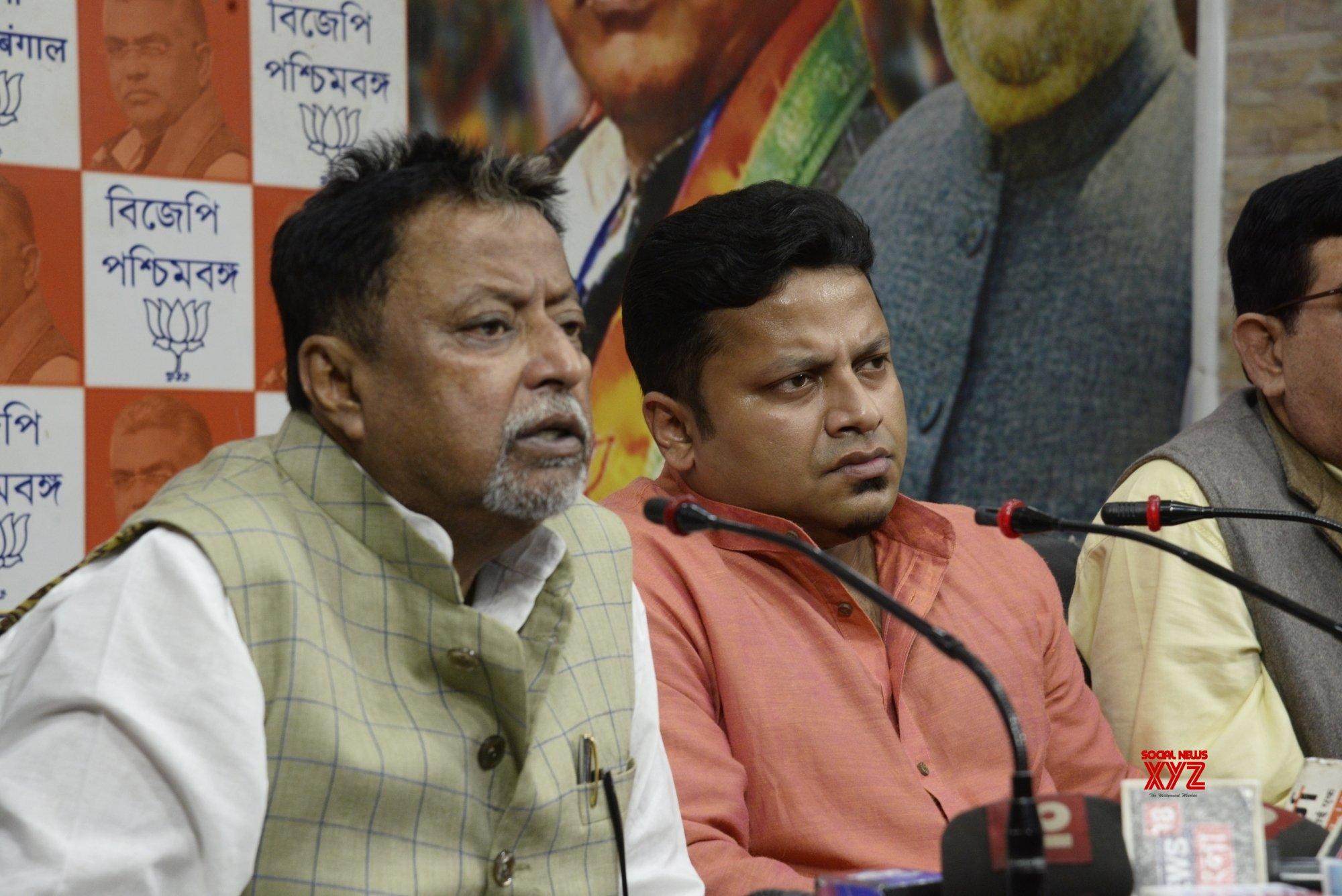 Kolkata: Mukul Roy, Anupam Hazra's press conference #Gallery