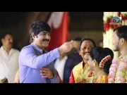Hero Srikanth with Wife Ooha Attends Journalist Prabhu Daughter Wedding (Video)
