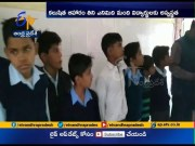 Rat found in mid day meal in Muzaffarnagar | eight students and teacher fall ill  (Video)