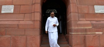 New Delhi: Congress MP P. Chidambaram at Parliament, in New Delhi on July 25, 2019. (Photo: IANS)