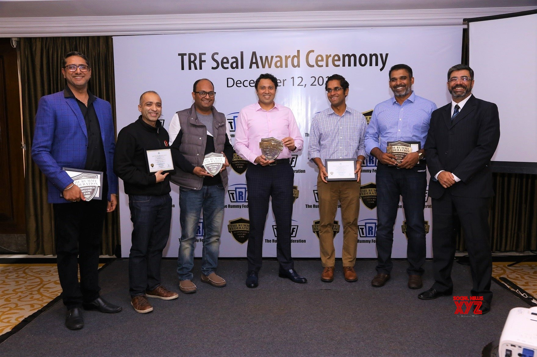 New Delhi: Rummy Federation awards TRF Dynamic Seal to online Rummy operators in India #Gallery