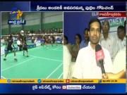 Inter - State Zonal Junior Badminton Championship   Coach Pullela Gopichand Visits   in Rajahmundry (Video)