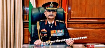 New Delhi: General Manoj Mukund Naravane takes over as the Chief of Indian Army, in New Delhi on Dec 31, 2019. (Photo: IANS/DPRO)
