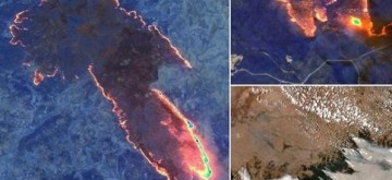 Australia's bushfires are so intense that satellites thousands of miles above Earth can easily spot their flames and smoke from space.Actor Arjun Rampal on Monday took to Instagram to express his concern over the bushfires in Australia.