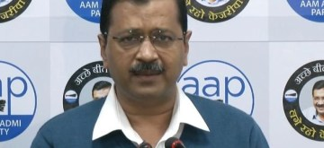 New Delhi: Delhi Chief Minister Arvind Kejriwal addresses a press conference in New Delhi on Jan 6, 2020. (Photo: IANS)