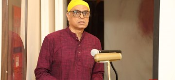 New York: India's permanent representative to the United Nations Syed Akbaruddin addresses during the 550th birth anniversary celebrations of Guru Nanak Dev in New York, US on Nov 12, 2019. (Photo: Mohammed Jaffer/IANS)