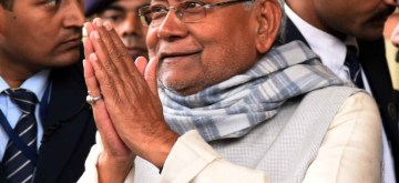 Patna: Bihar Chief Minister Nitish Kumar arrives to attend the special session of the state assembly convened to ratify the 126th Constitution Amendment Bill, in Patna on Jan 13, 2020. The bill proposes to extend SC/ST quota in Lok Sabha and State Assemblies by another 10 years. (Photo: IANS)