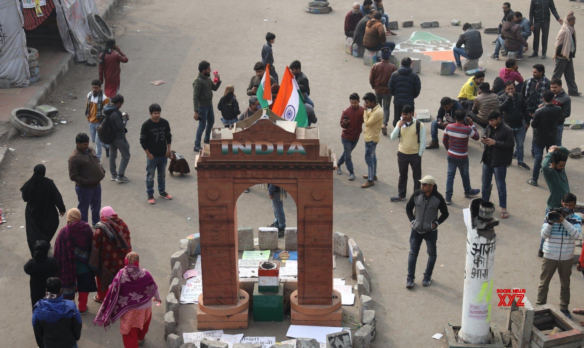 New Delhi: Protests against CAA - NRC - NPR #Gallery
