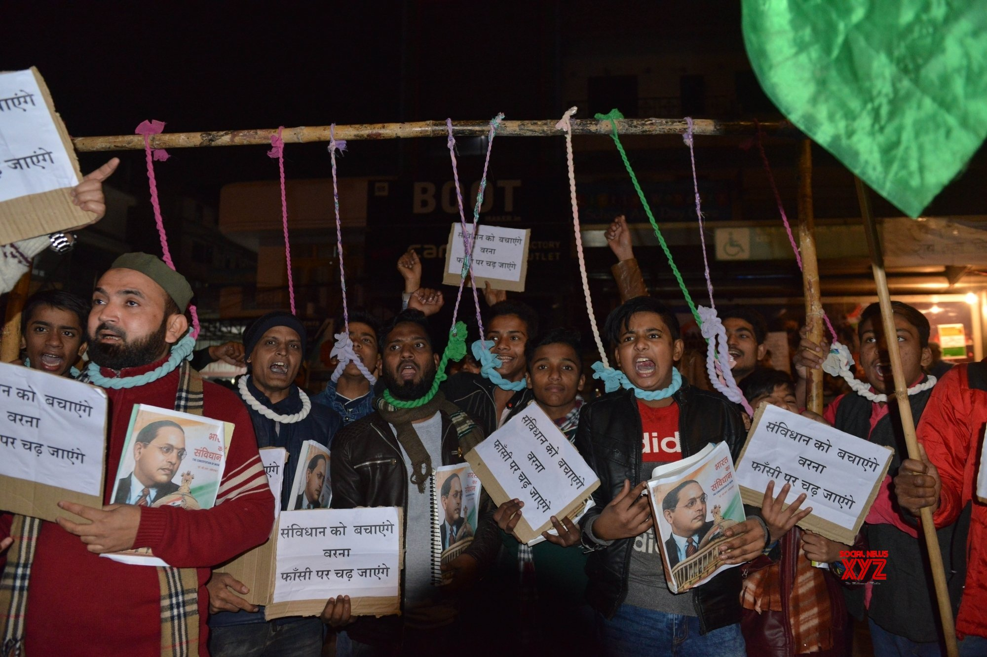 New Delhi: Protest against CAA - NRC - NPR at Shaheen Bagh (Batch - 2) #Gallery