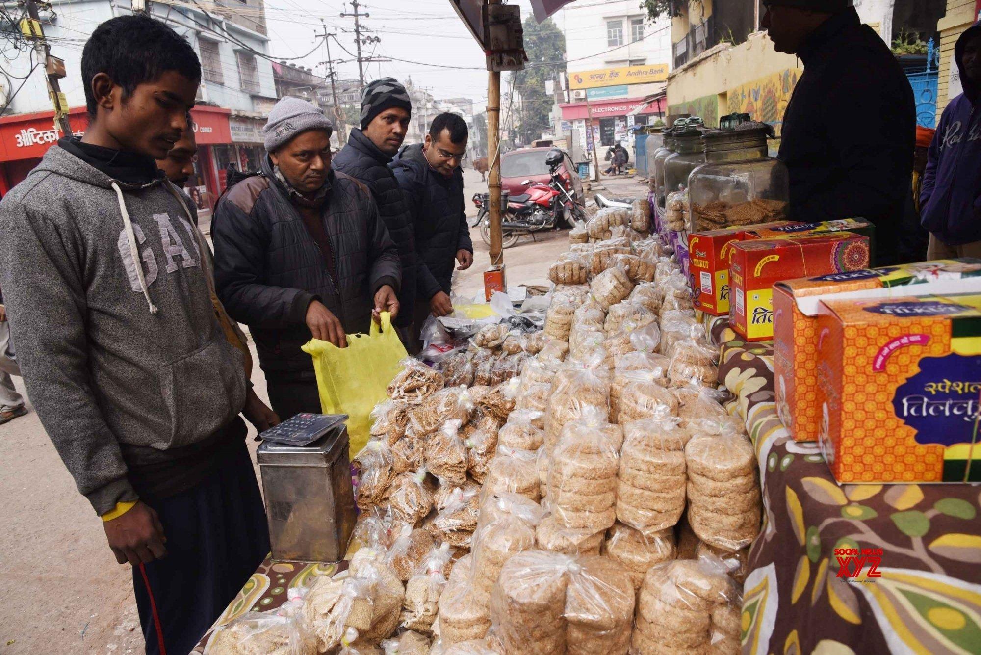 Patna: Makar Sankranti shopping #Gallery