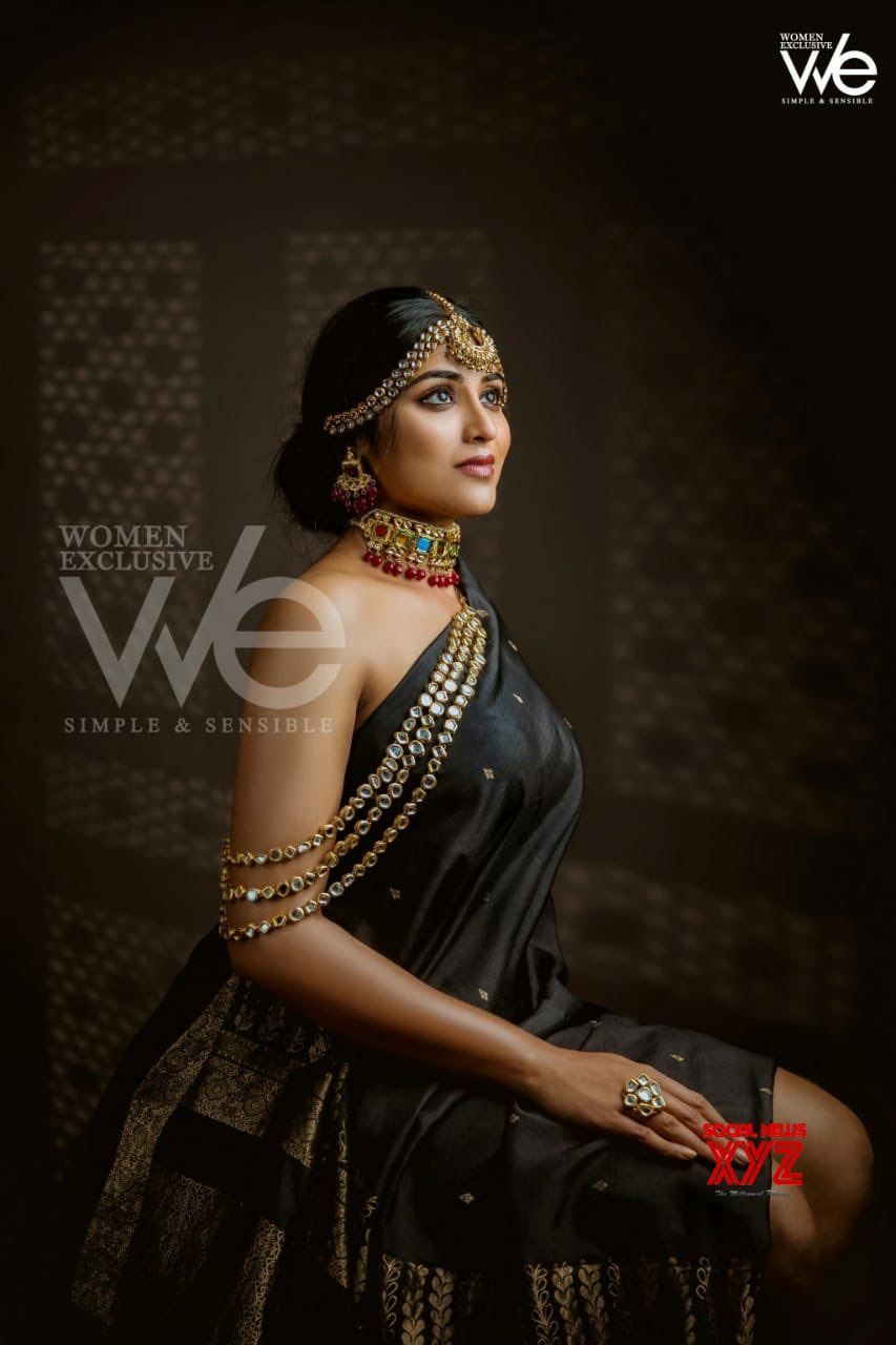 Actress Indhuja Ravichandran Latest Stunning Stills From Women Exclusive Magazine Cover Shoot