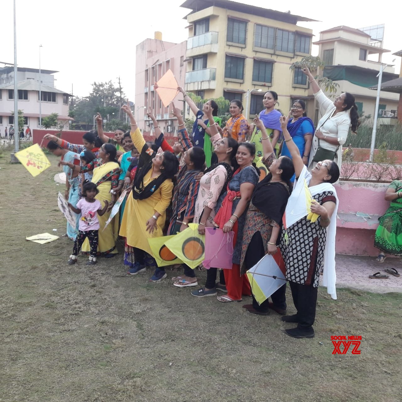 Raigad: Maha women, LGBTQ fly kites for 'freedom from oppression' #Gallery
