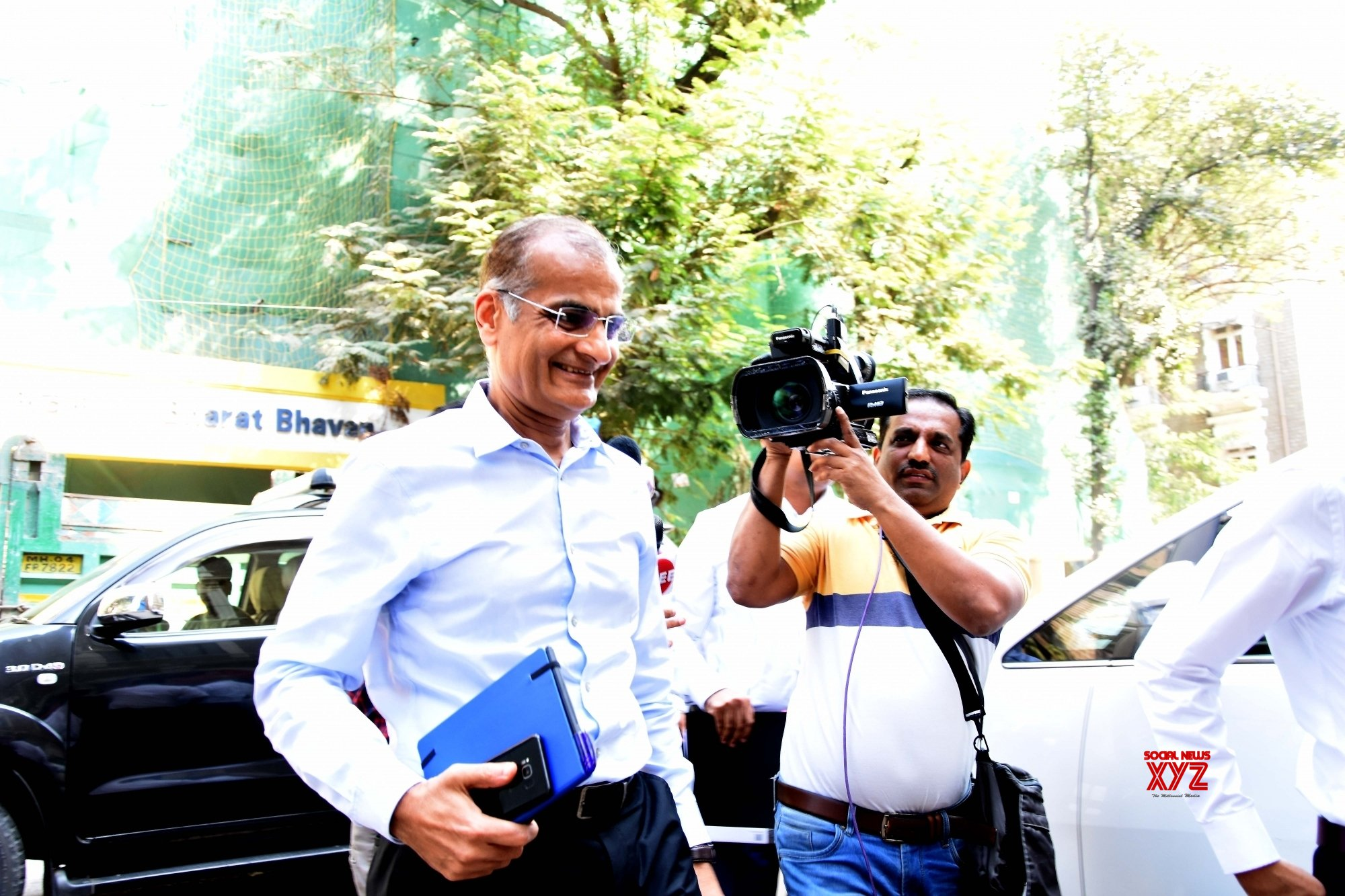 Mumbai: Edelweiss Chairman appears before ED in Forex case #Gallery