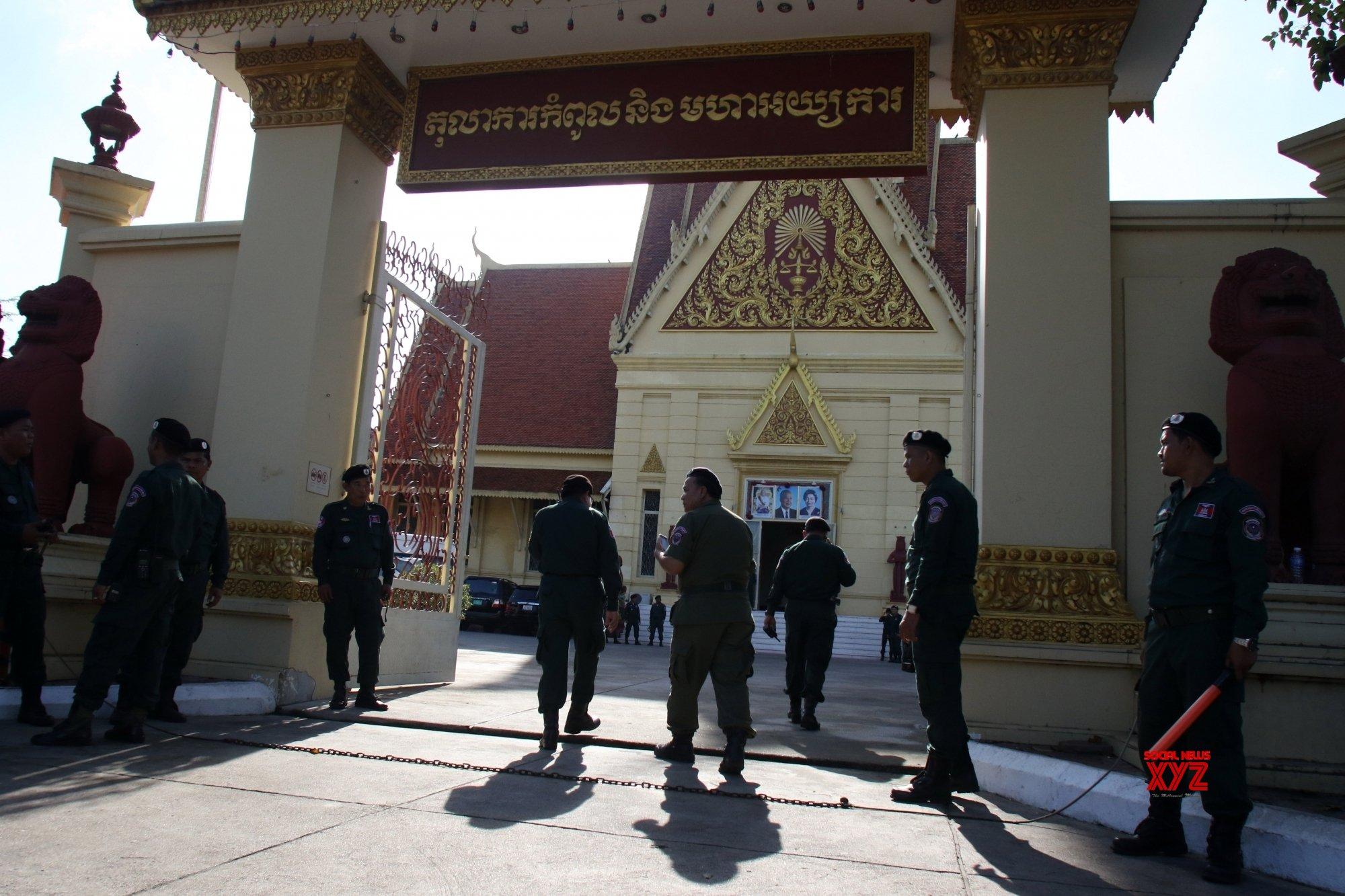 Transparency urged for Cambodian oppn leader's treason trial