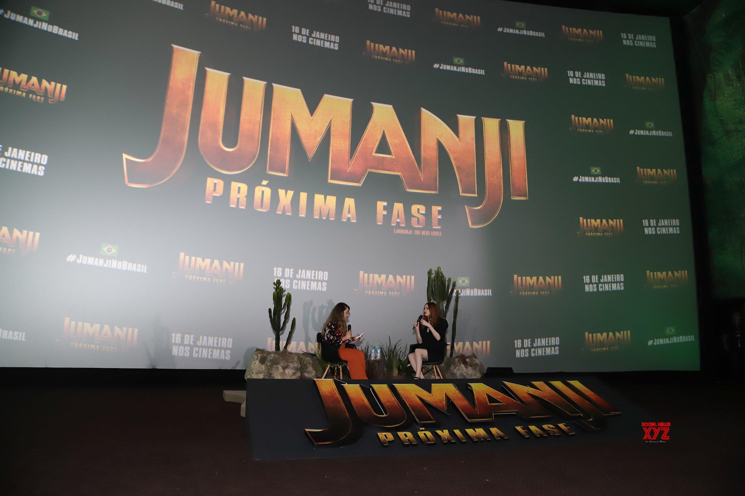 Jumanji The Next Level Movie Karen Gillan's Brazil Tour Fan Event HD Gallery