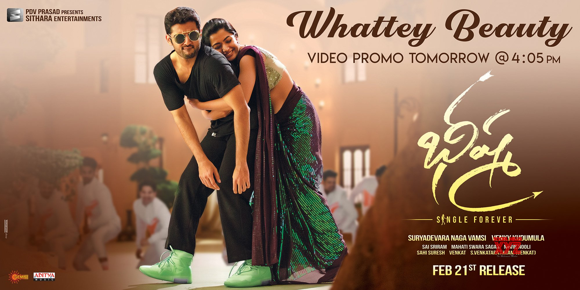 Bheeshma Movie Whattey Beauty Song Promo New Hd Poster And Still Social News Xyz