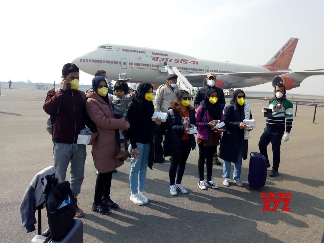 Coronavirus: Flight leaves for Wuhan to bring back trapped Indians