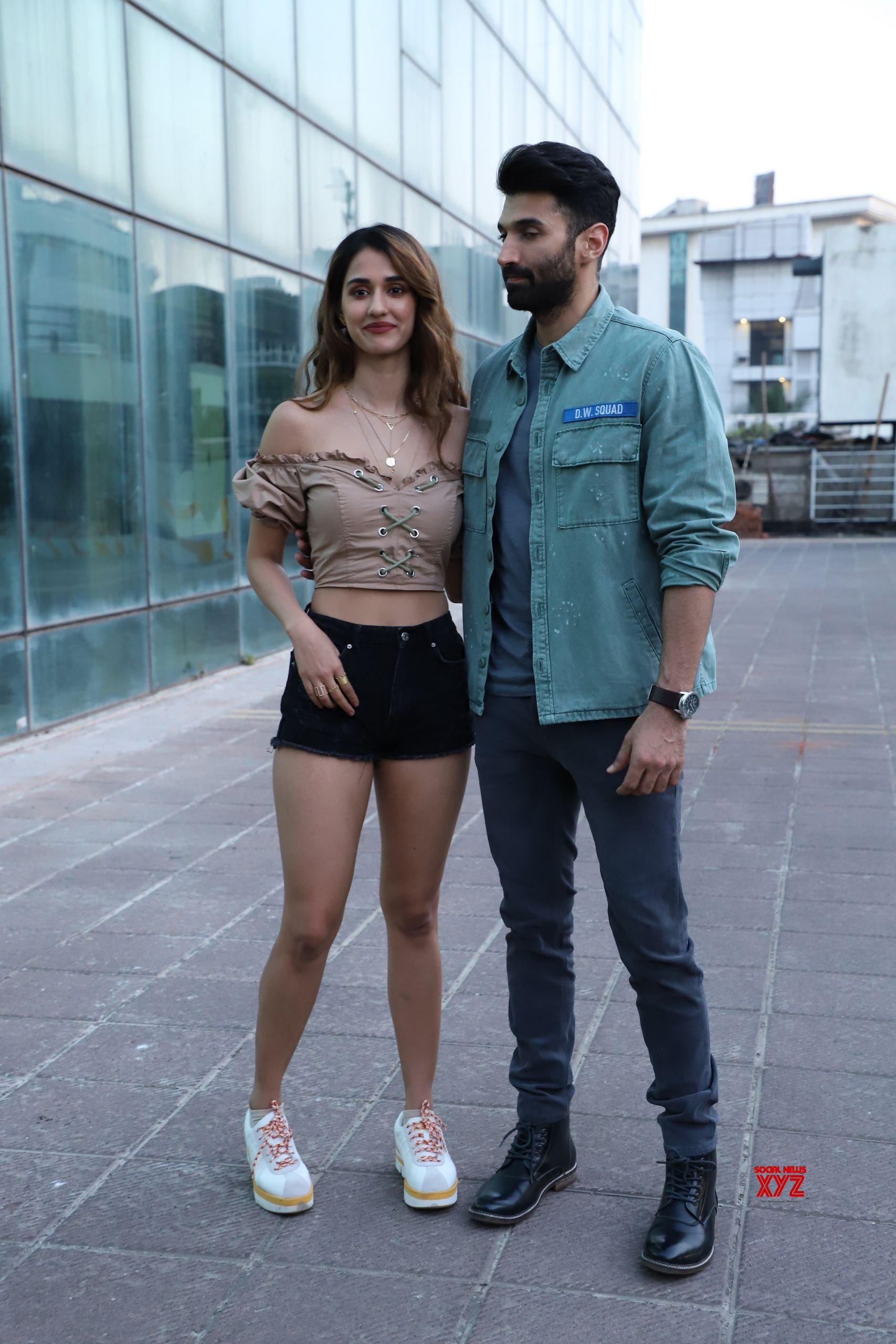 Disha Patani And Aditya Roy Kapoor At Luv Films Office In Andheri For Malang Movie Hd Promotions Social News Xyz