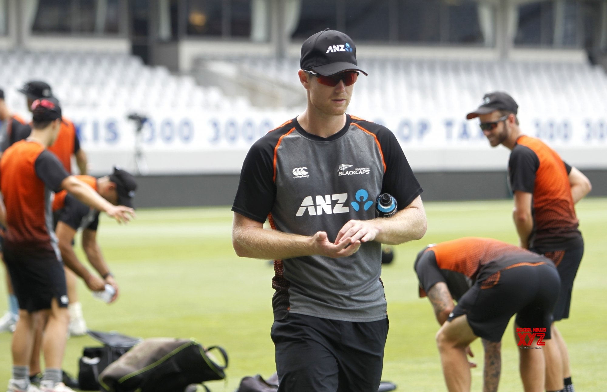 Auckland: India Vs New Zealand - 2nd ODI - New Zealand practice session #Gallery